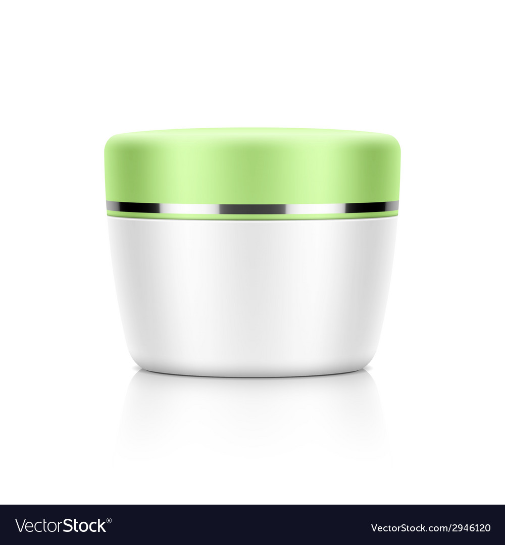 Cosmetic jar vector | Price: 1 Credit (USD $1)