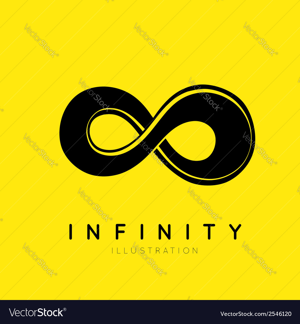 The symbol of infinity vector | Price: 1 Credit (USD $1)