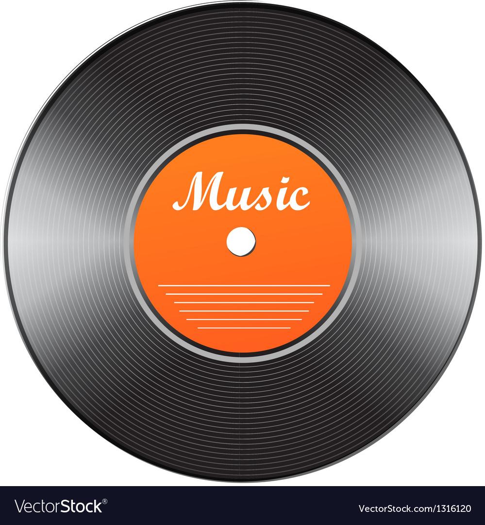 Vinyl icon vector | Price: 1 Credit (USD $1)