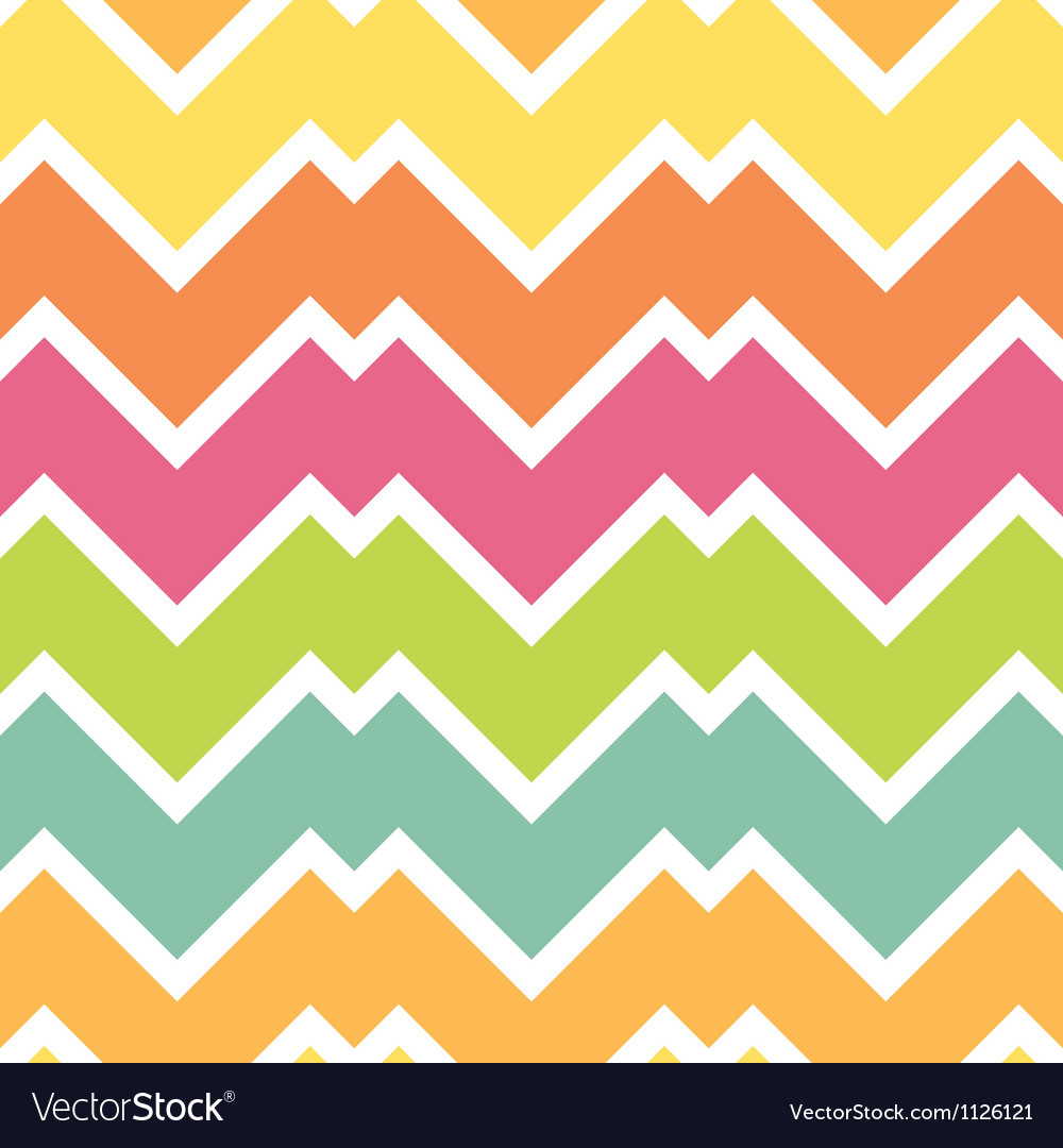 Candy colors chevron vector | Price: 1 Credit (USD $1)