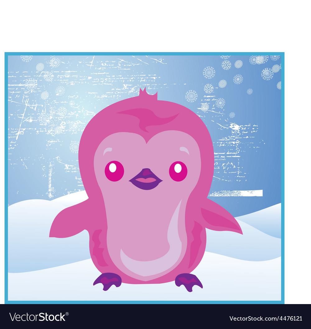 Cartoon penguin vector | Price: 1 Credit (USD $1)