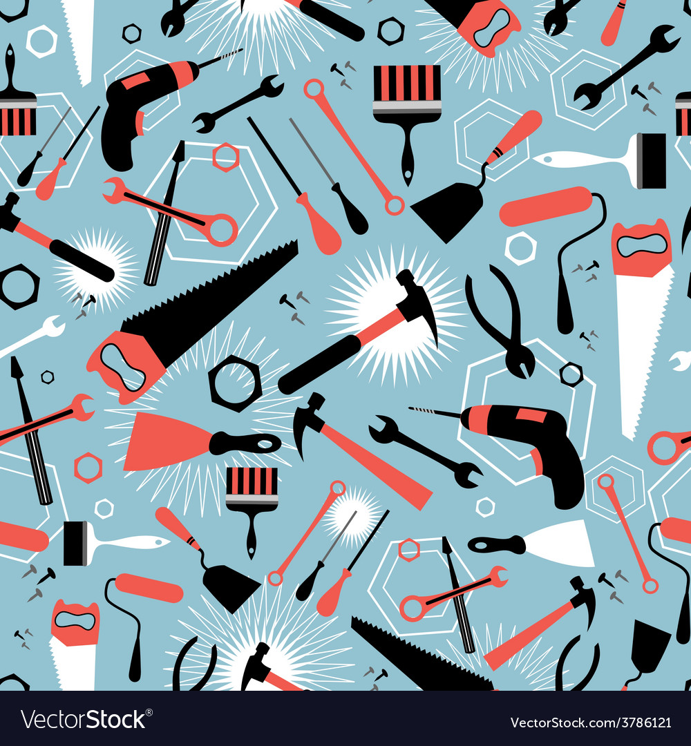 Pattern of tools for repairing vector | Price: 1 Credit (USD $1)