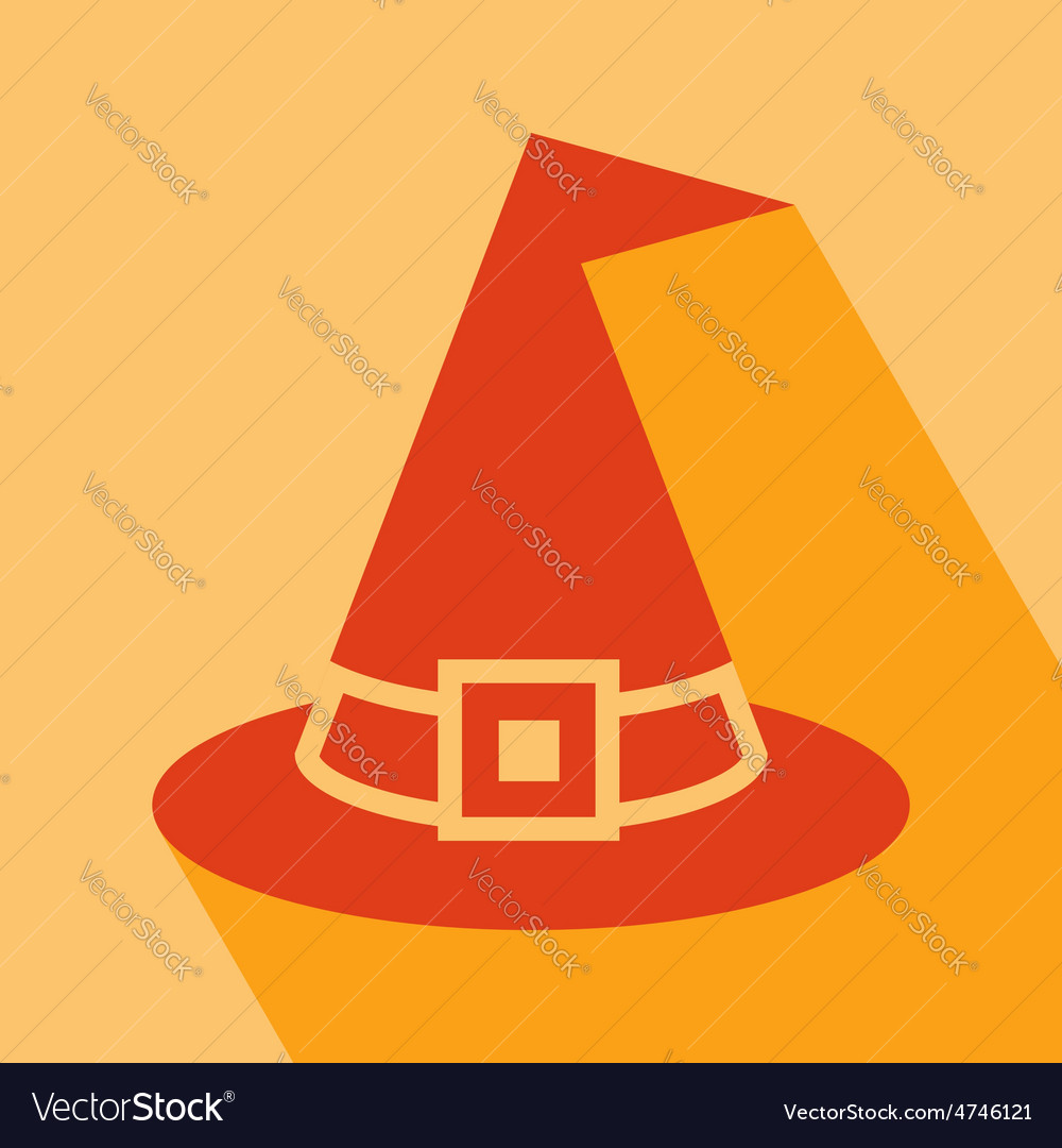 Witch hat icon vector | Price: 1 Credit (USD $1)