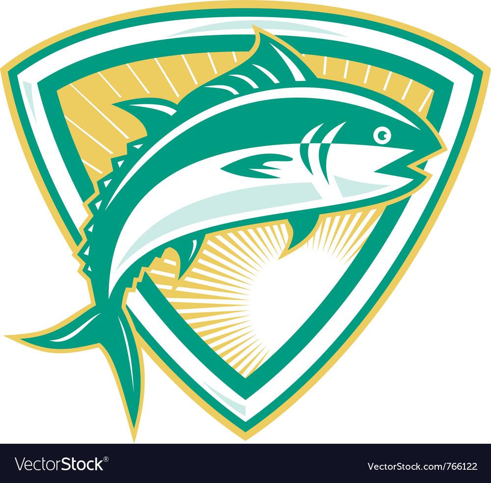 Bluefin tuna vector | Price: 1 Credit (USD $1)