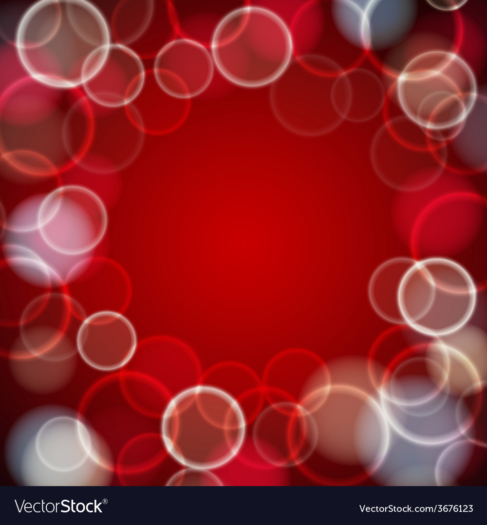 Design layout with bokeh vector | Price: 1 Credit (USD $1)