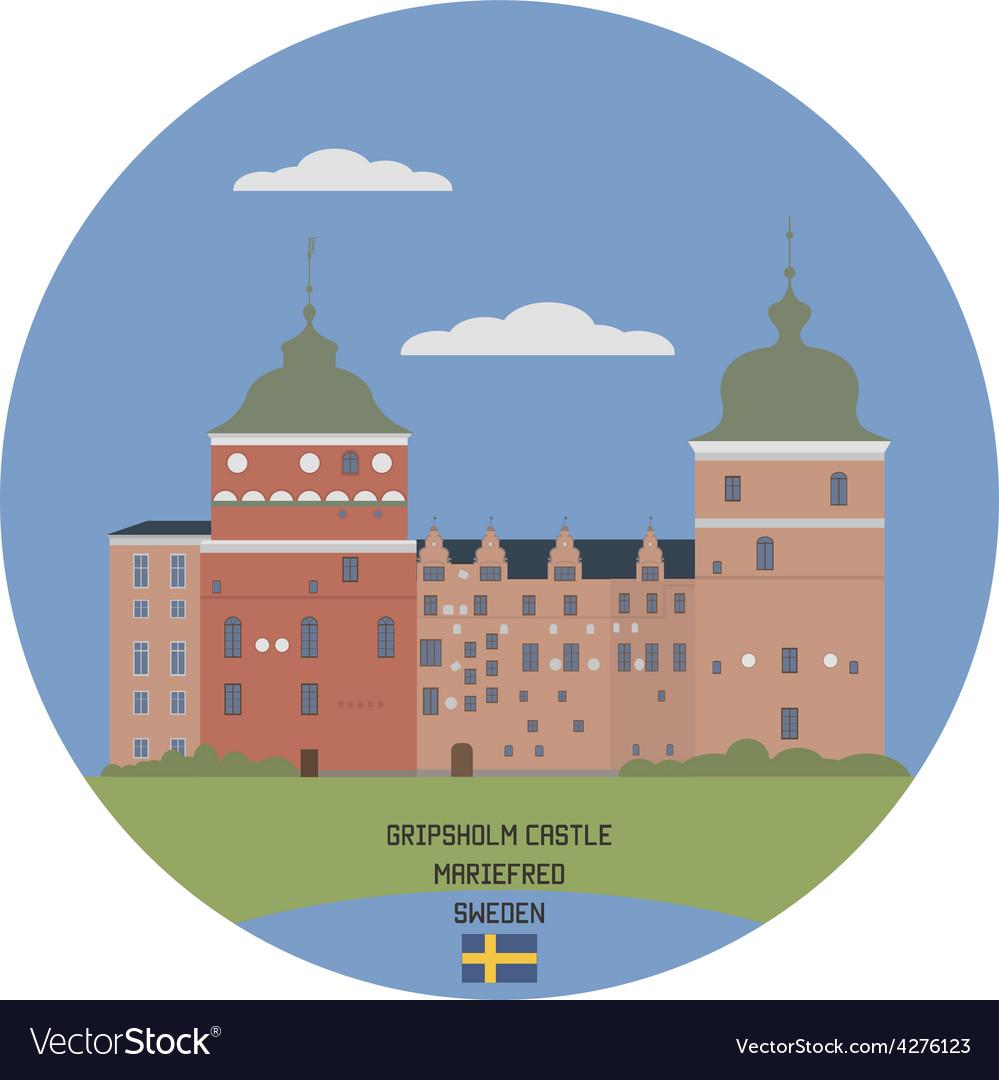 Gripsholm castle vector   Price: 1 Credit (USD $1)
