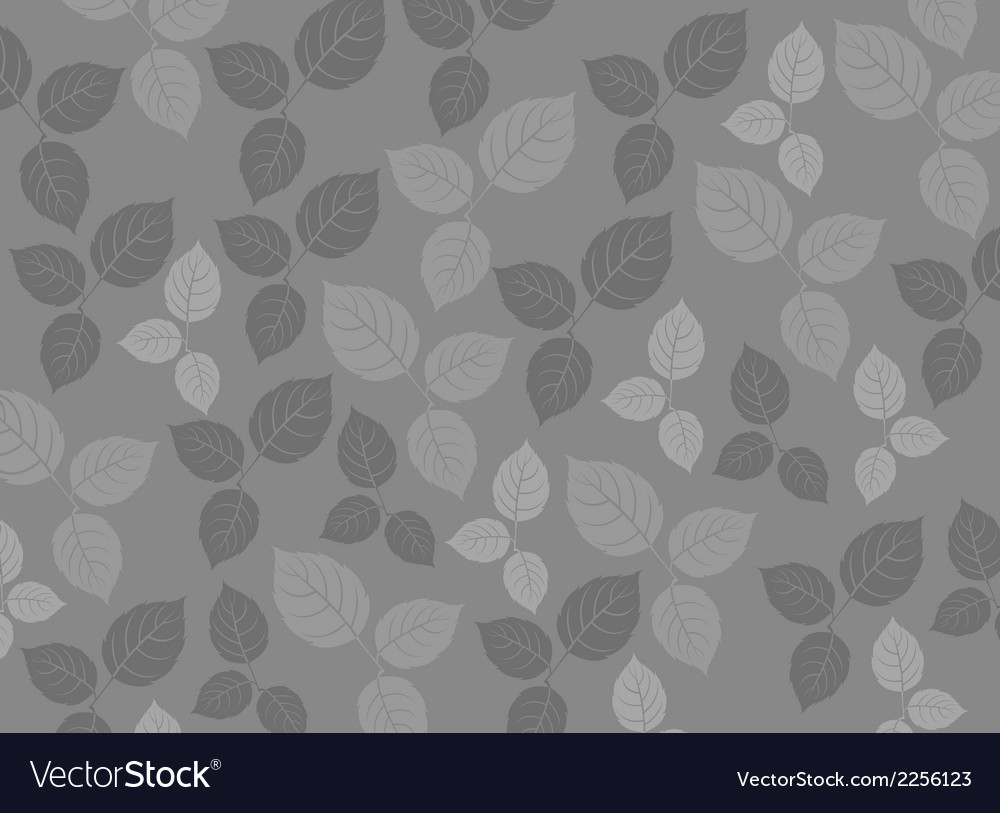 Leaf pattern background vector | Price: 1 Credit (USD $1)