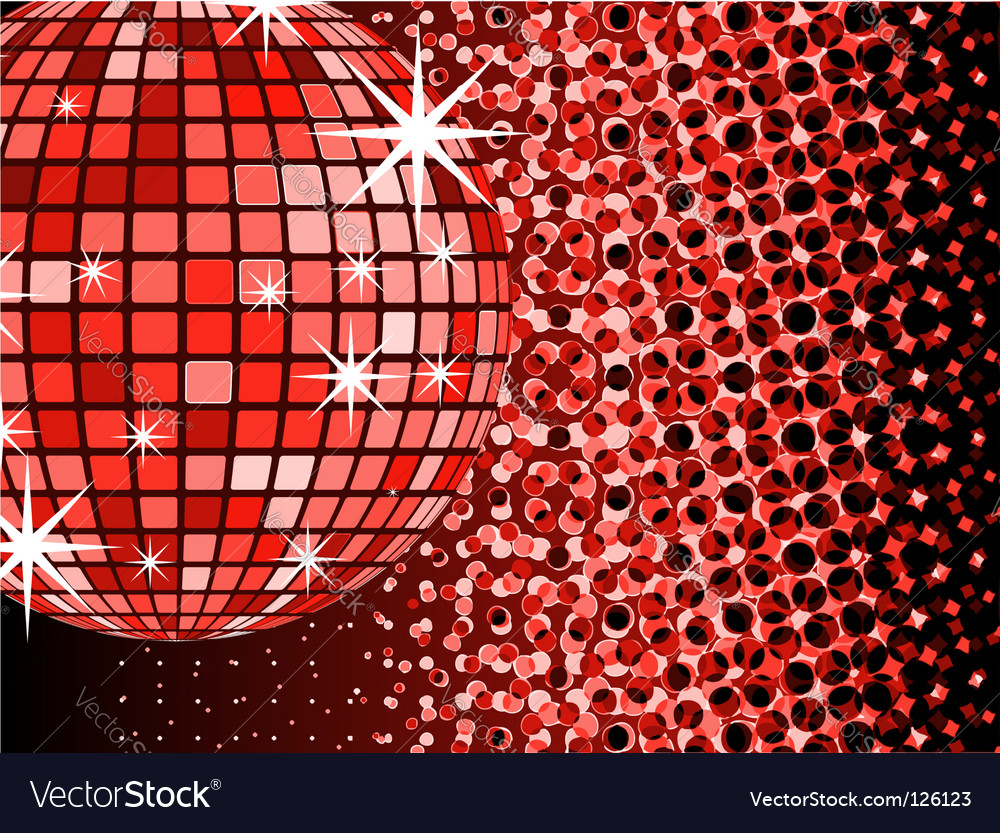 Mirror ball disco vector | Price: 1 Credit (USD $1)
