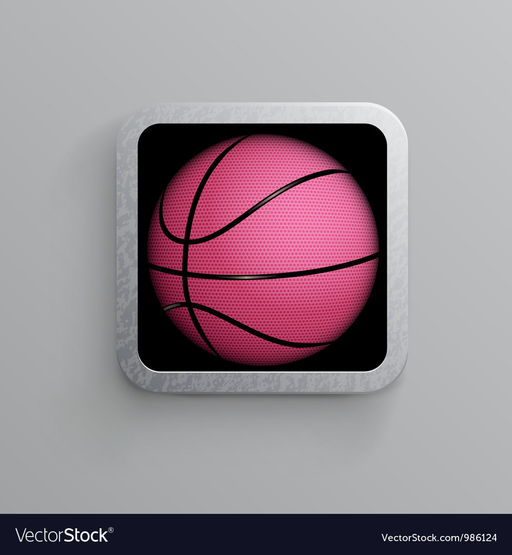 Basketball goal black web icon vector | Price: 1 Credit (USD $1)
