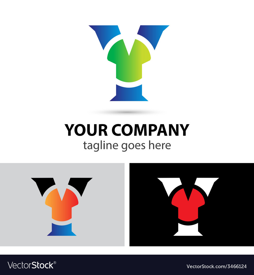 Letter y logo vector | Price: 1 Credit (USD $1)