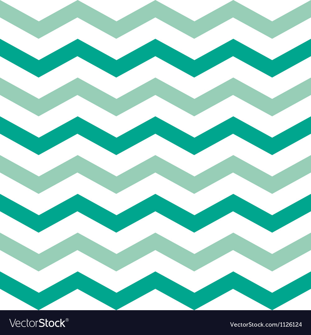 Wide emerald chevron vector | Price: 1 Credit (USD $1)