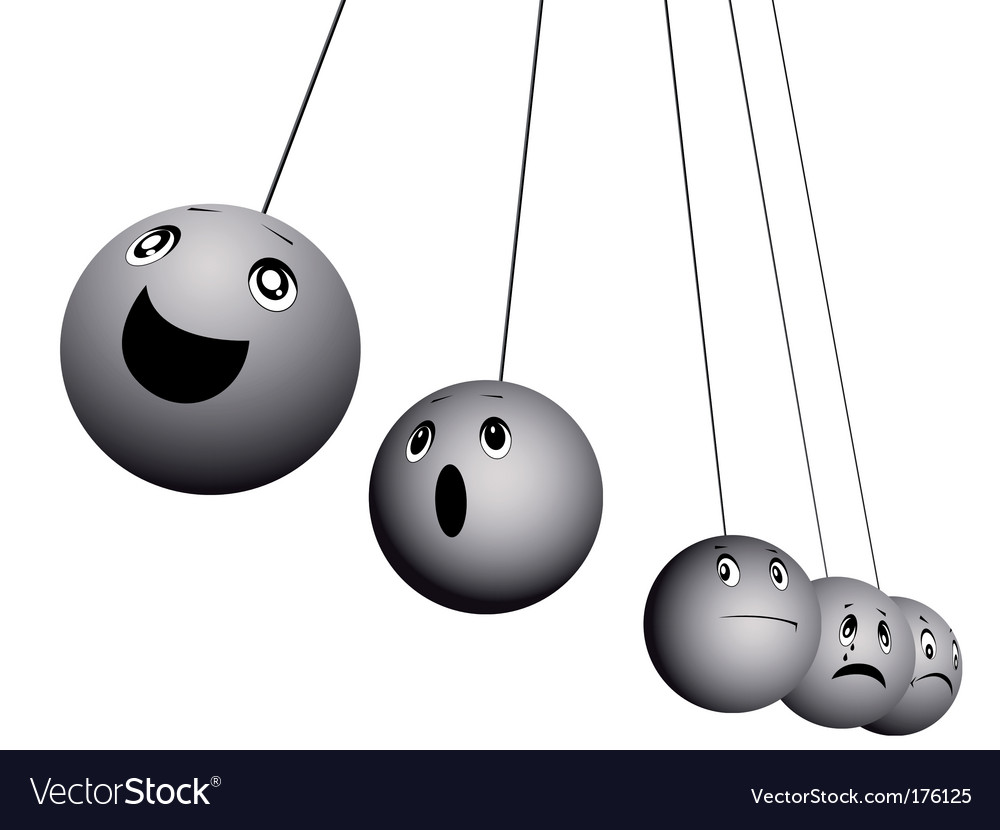 Balls expressing emotions vector | Price: 1 Credit (USD $1)