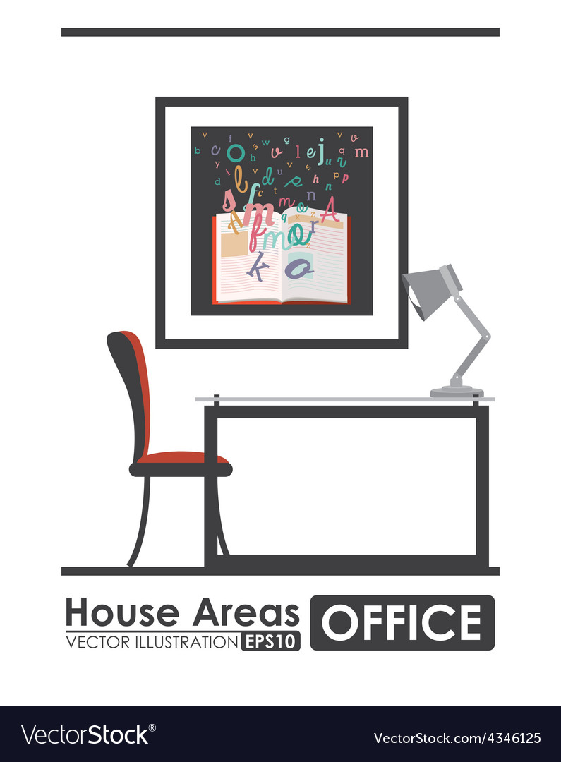 House areas design vector | Price: 1 Credit (USD $1)