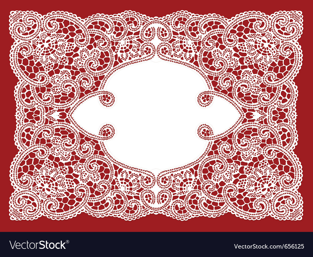 Wedding lace ornament vector | Price: 1 Credit (USD $1)