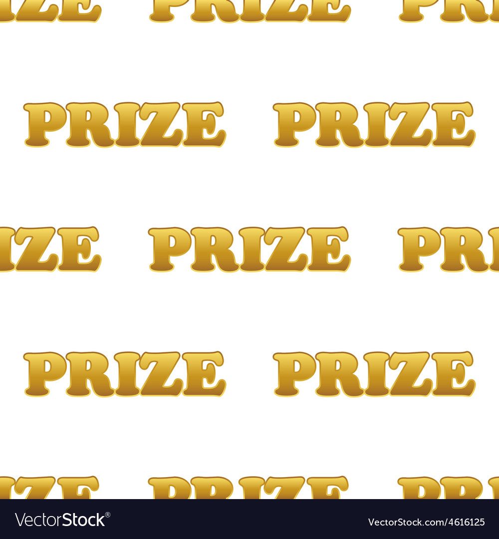 Word prize pattern vector | Price: 1 Credit (USD $1)
