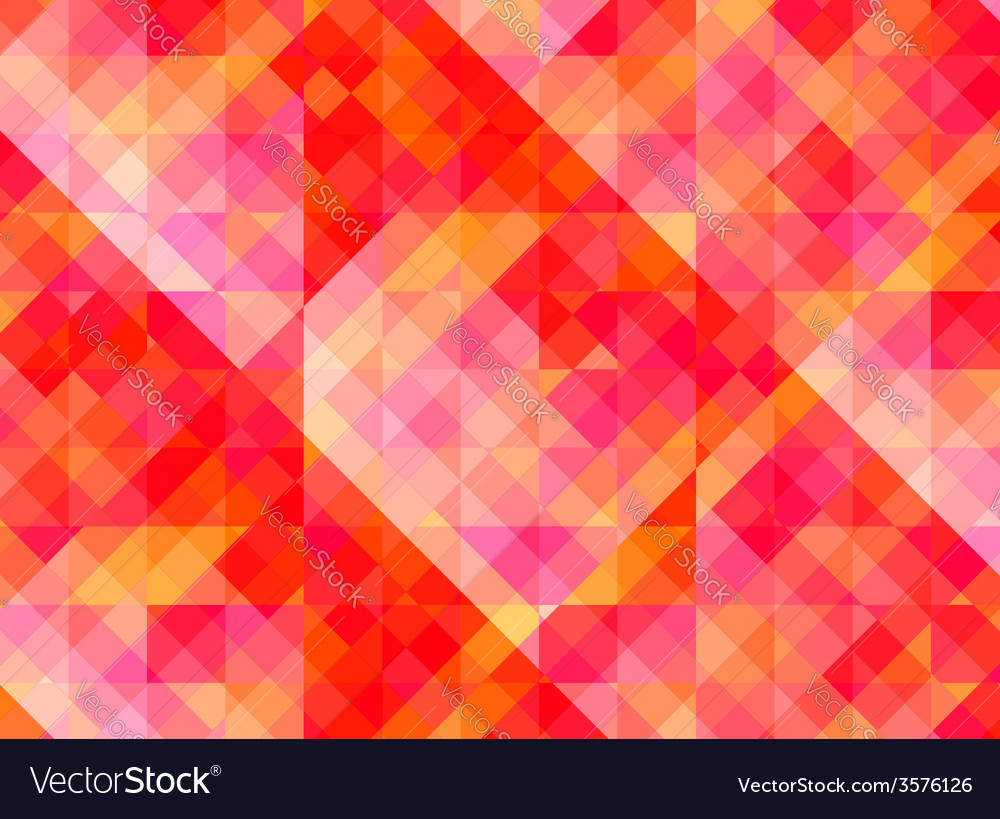 Abstract geometric background with red and yellow vector | Price: 1 Credit (USD $1)