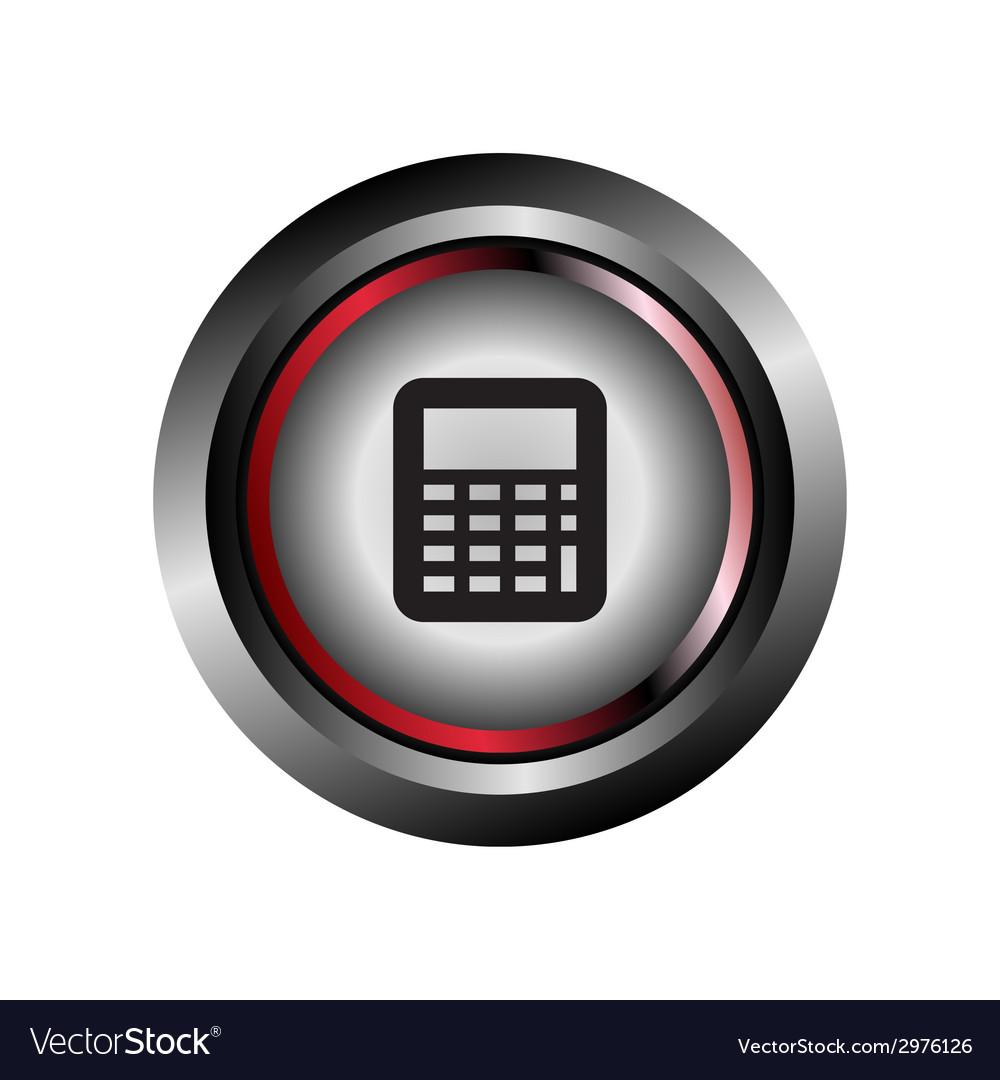 Calculator sign vector | Price: 1 Credit (USD $1)