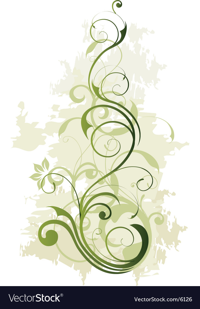 Floral background design vector | Price: 1 Credit (USD $1)