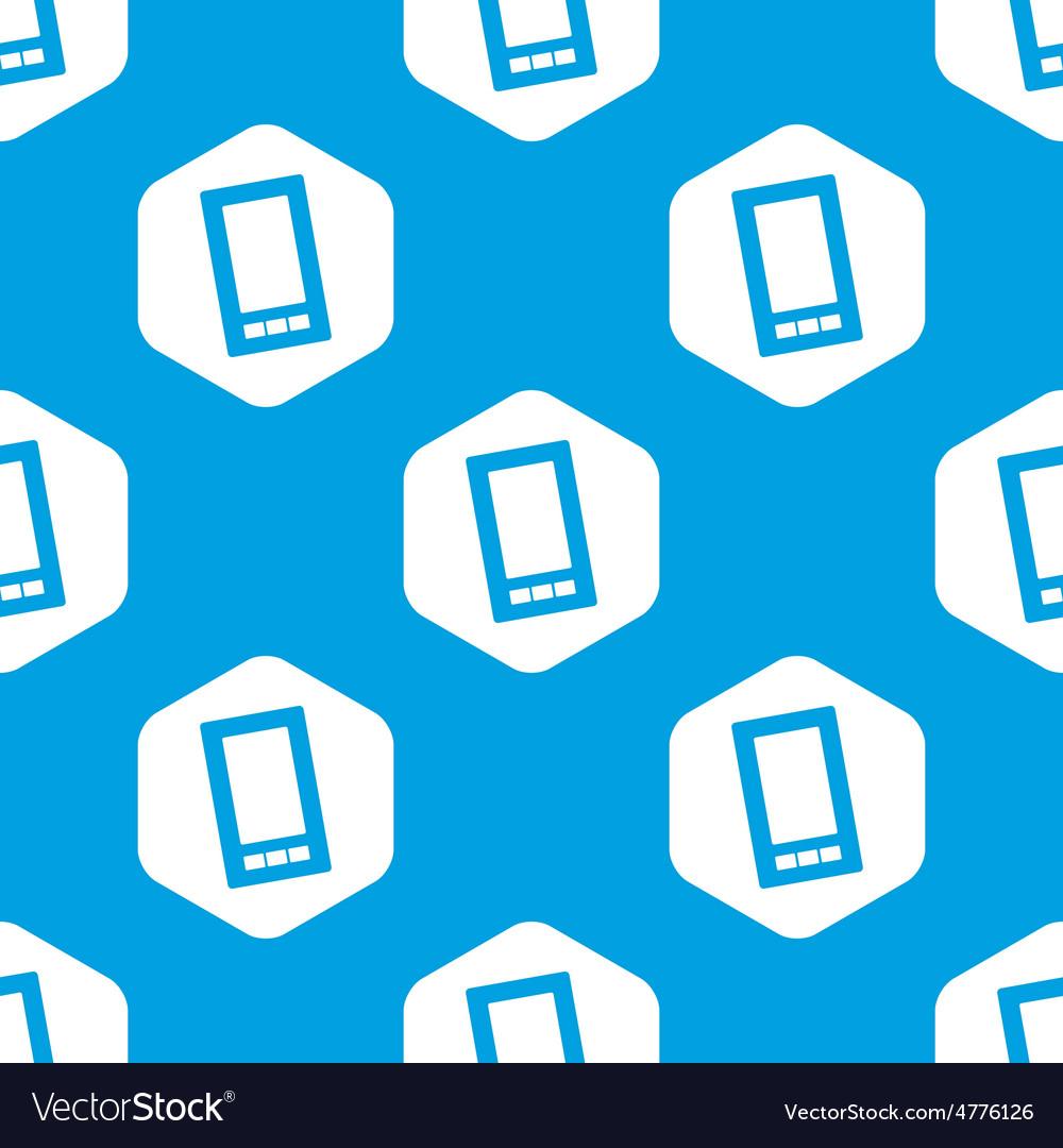 Smartphone hexagon pattern vector   Price: 1 Credit (USD $1)