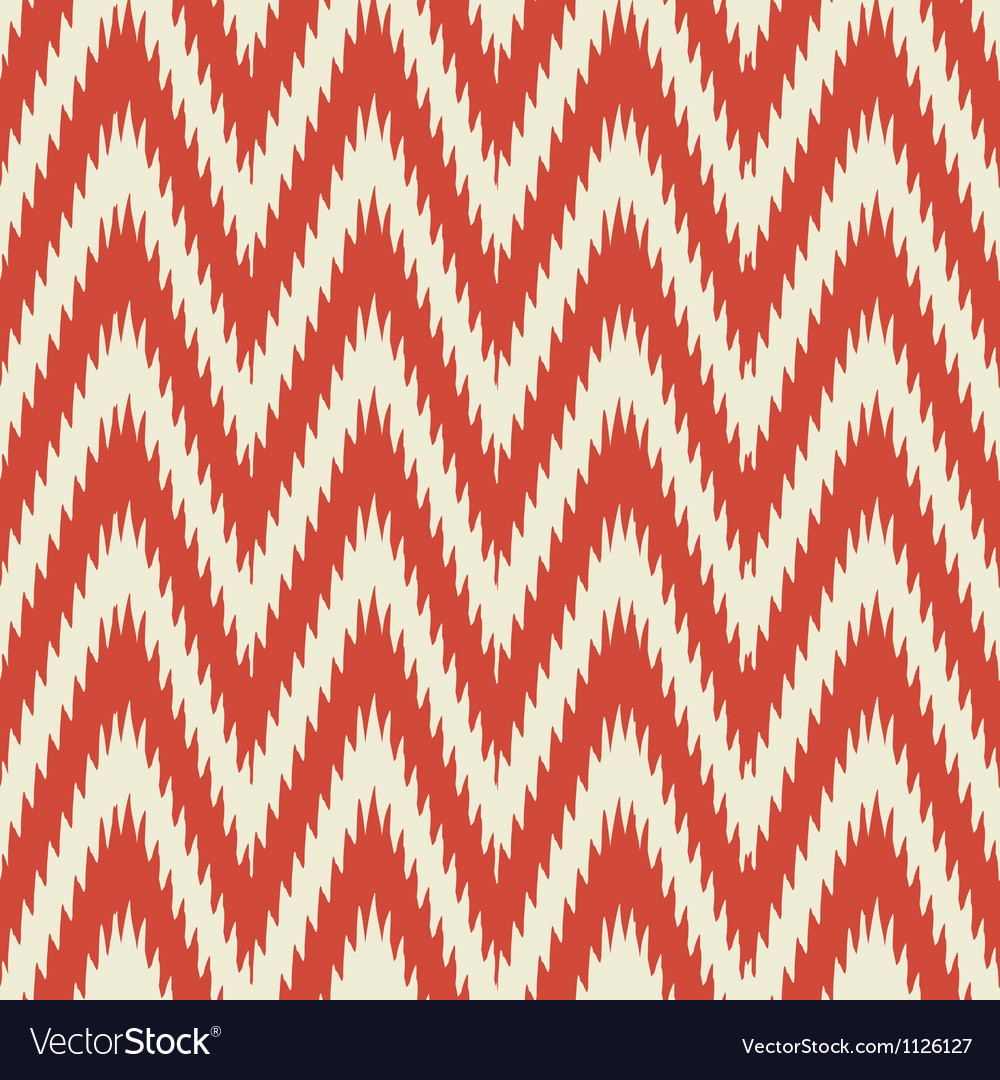 Retro modern ikat chevron vector | Price: 1 Credit (USD $1)