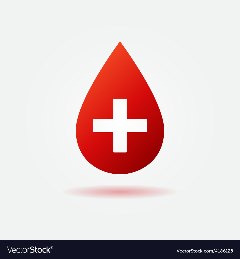 Blood red icon or logo vector | Price: 1 Credit (USD $1)