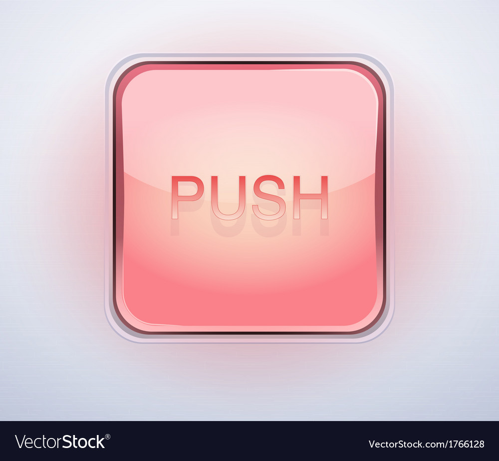 Glossy glass start button vector | Price: 1 Credit (USD $1)