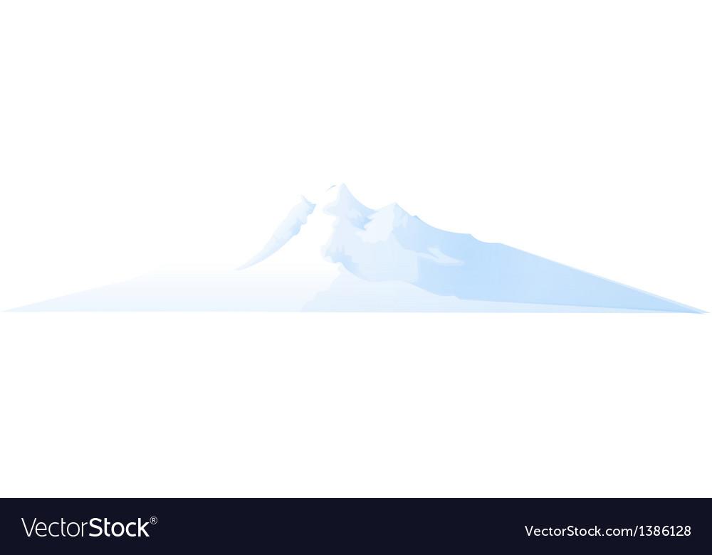 Icon snow vector | Price: 1 Credit (USD $1)