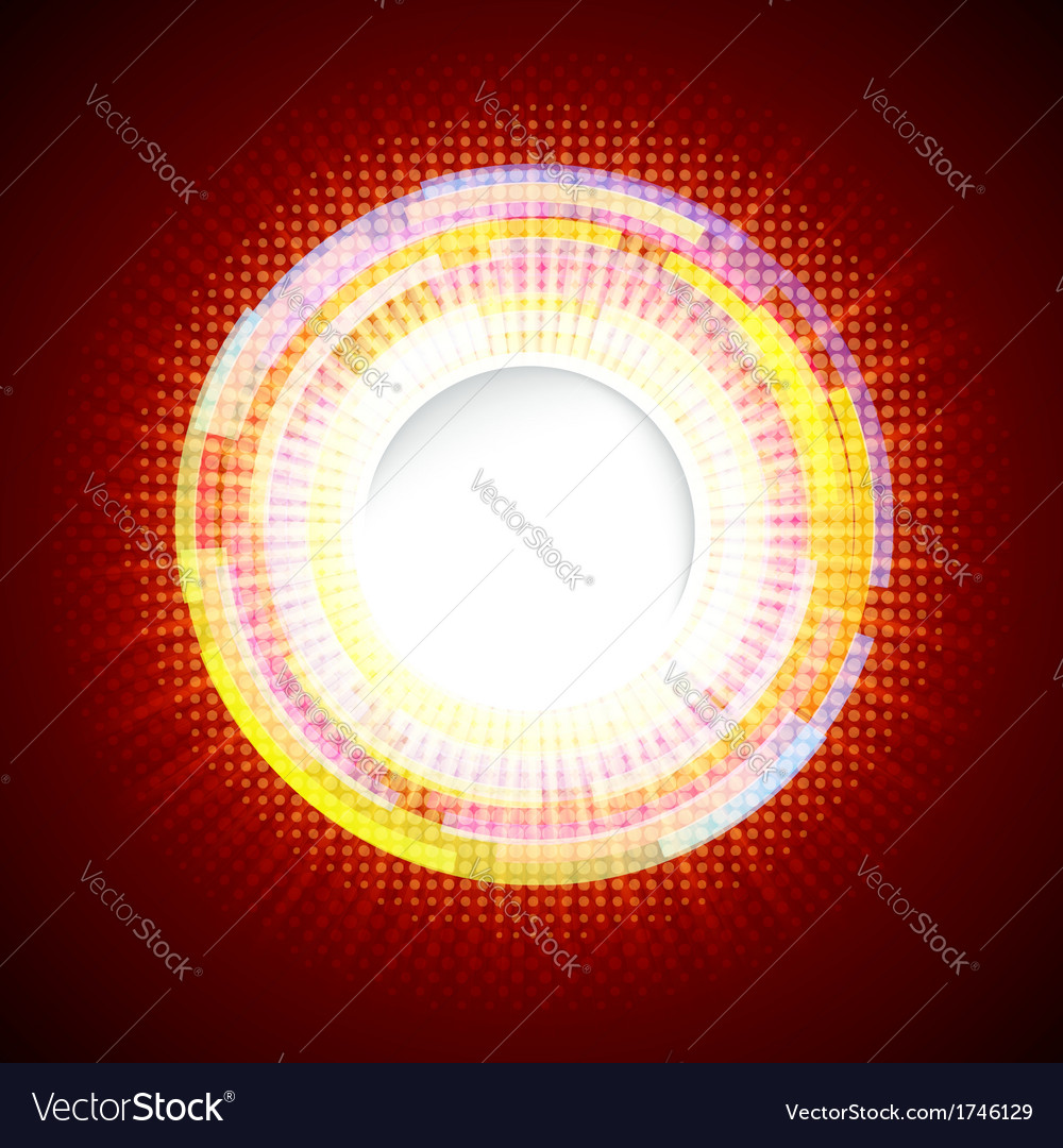 Abstract digital background with a round space for vector | Price: 1 Credit (USD $1)