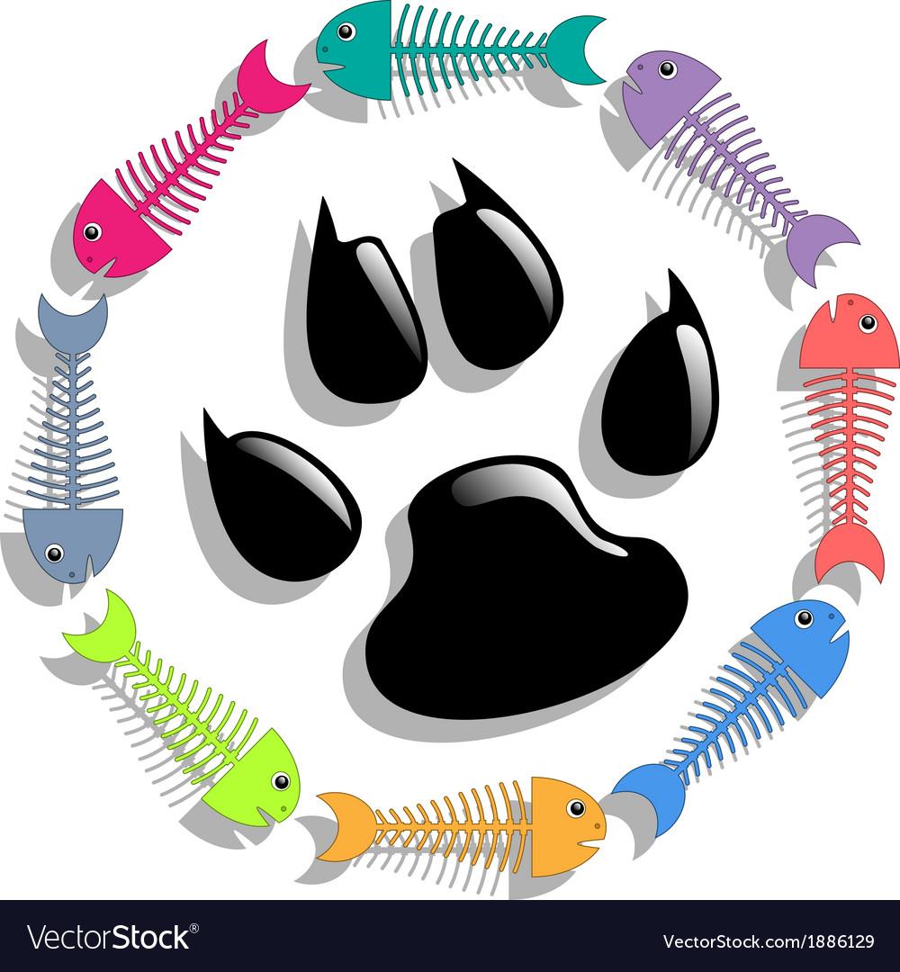 Cat food vector | Price: 1 Credit (USD $1)