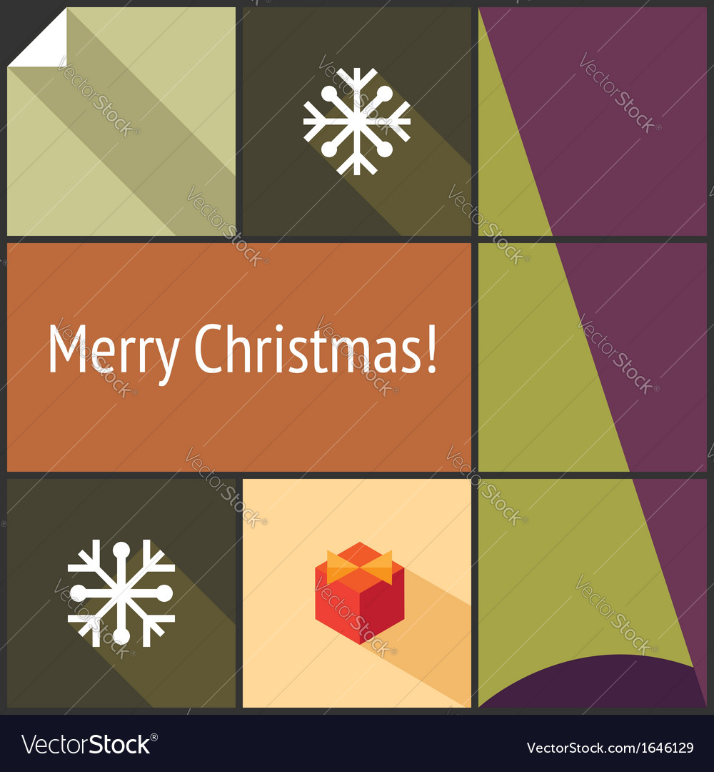Christmas flat interface vector   Price: 1 Credit (USD $1)