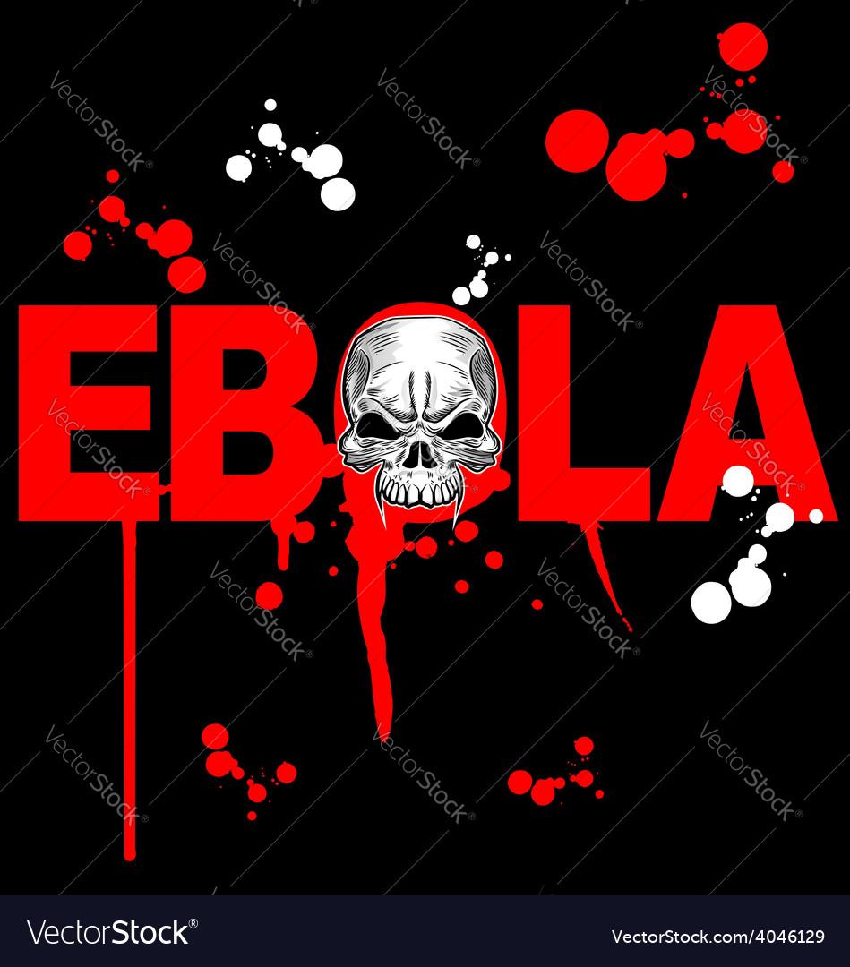 Ebola virus design vector | Price: 1 Credit (USD $1)