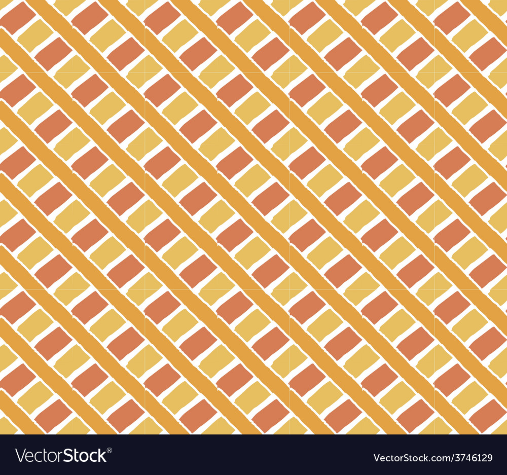 Hand drawn crossed stripes ornament background vector | Price: 1 Credit (USD $1)