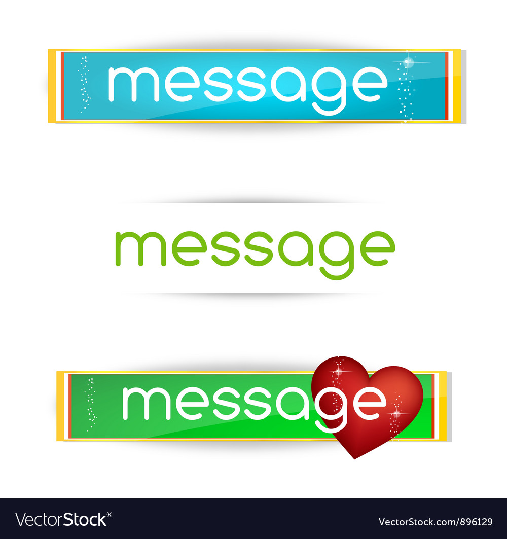 Minimal and clear colored bannes set vector | Price: 3 Credit (USD $3)