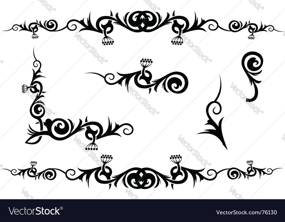 Decoration vector | Price: 1 Credit (USD $1)