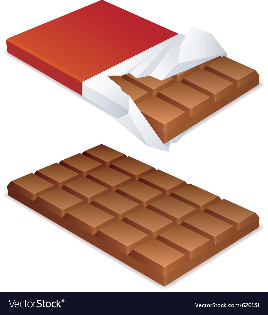 Chocolate bar vector | Price: 3 Credit (USD $3)