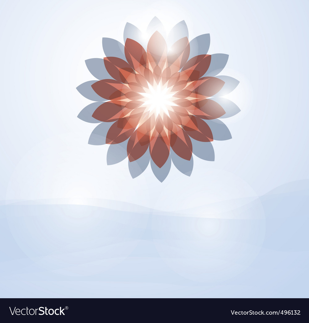 Soft flower vector | Price: 1 Credit (USD $1)