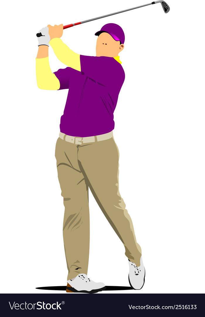 Al 0230 golf vector | Price: 1 Credit (USD $1)