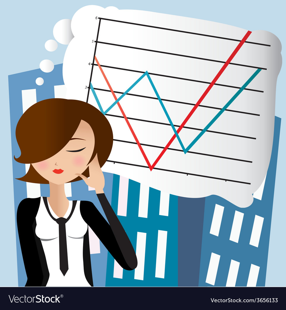 Businesswoman5 vector | Price: 1 Credit (USD $1)
