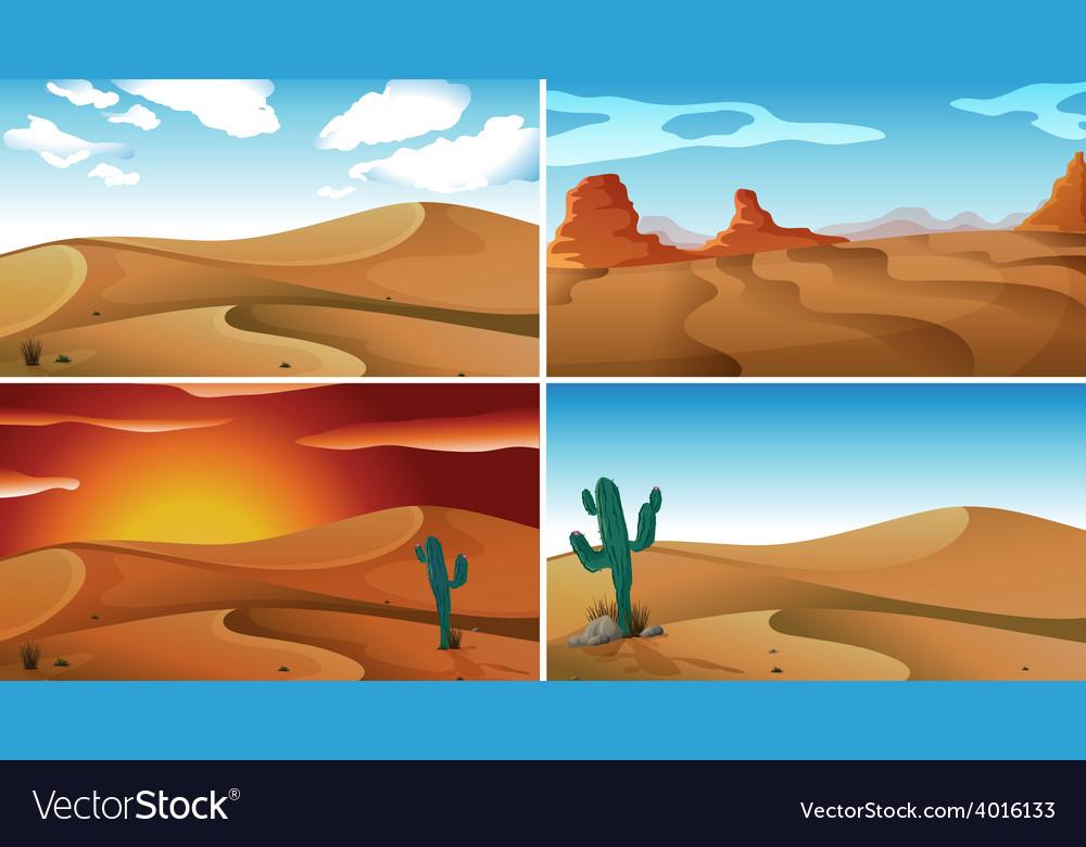 Deserts vector | Price: 1 Credit (USD $1)
