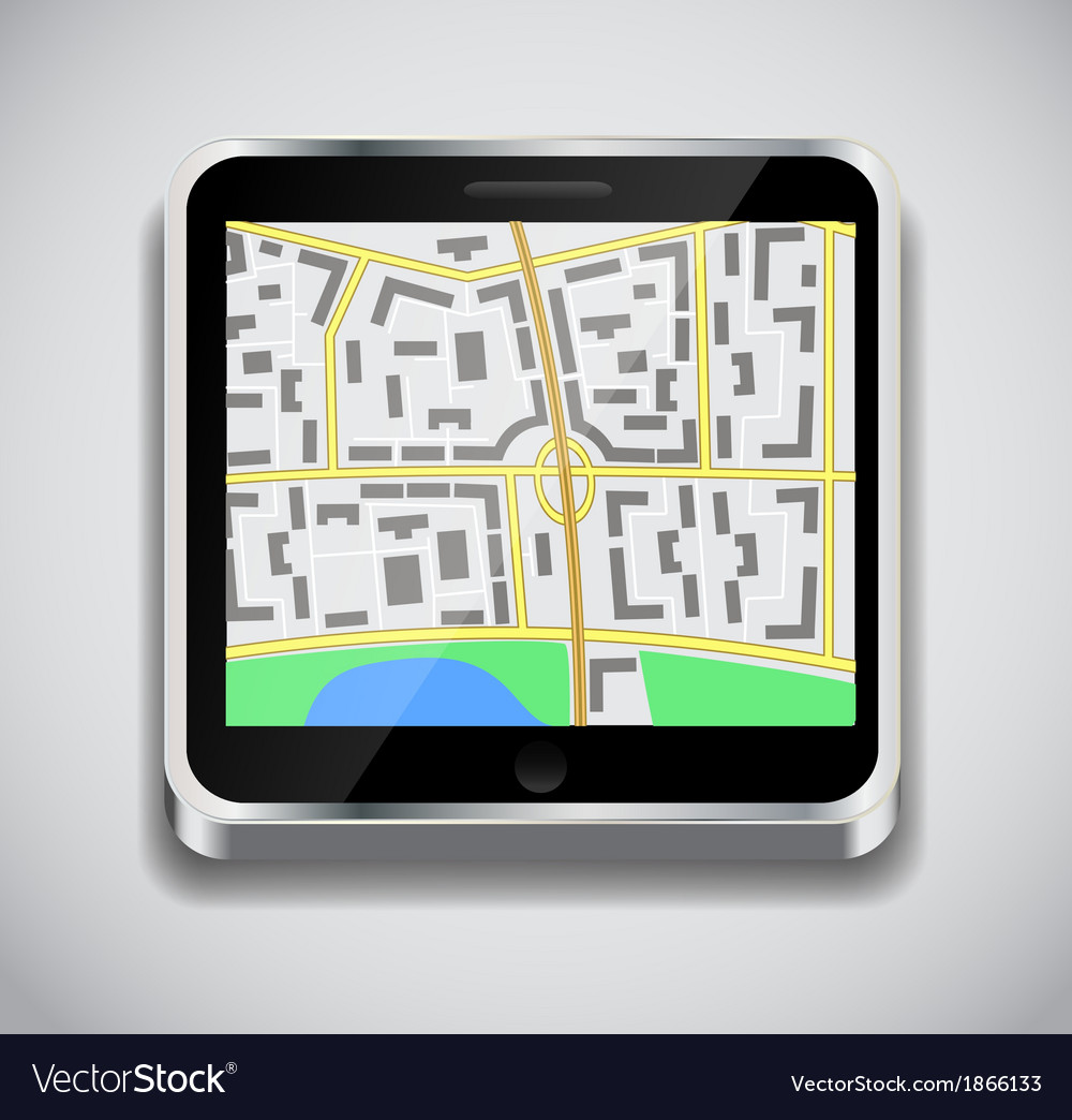 Navigation icon vector | Price: 1 Credit (USD $1)