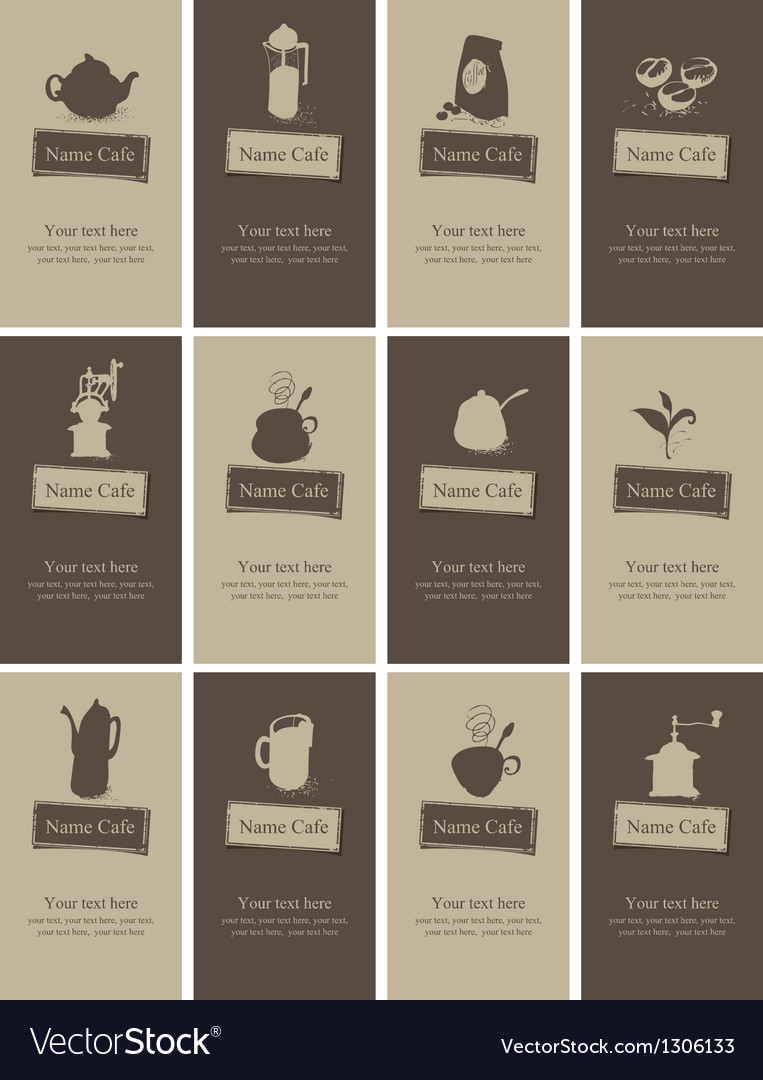 Tea and coffee vector   Price: 3 Credit (USD $3)