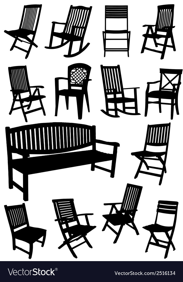 Al 0231 chairs vector | Price: 1 Credit (USD $1)