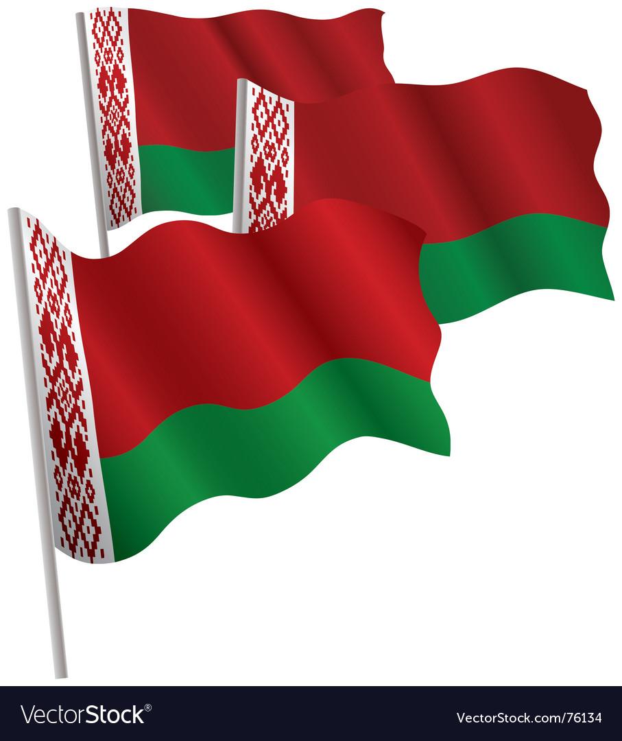 Belarus 3d flag vector | Price: 1 Credit (USD $1)