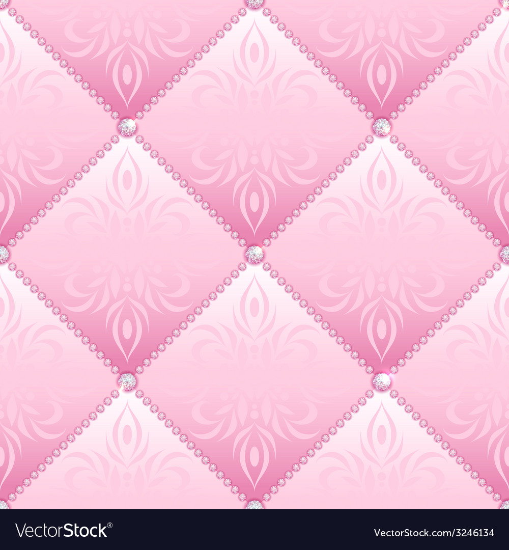 Pink glamor seamless vector | Price: 1 Credit (USD $1)