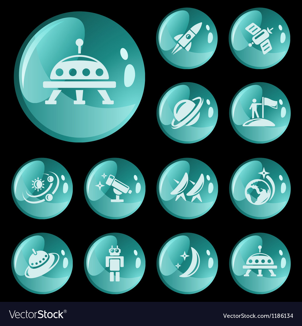 Space buttons vector | Price: 1 Credit (USD $1)