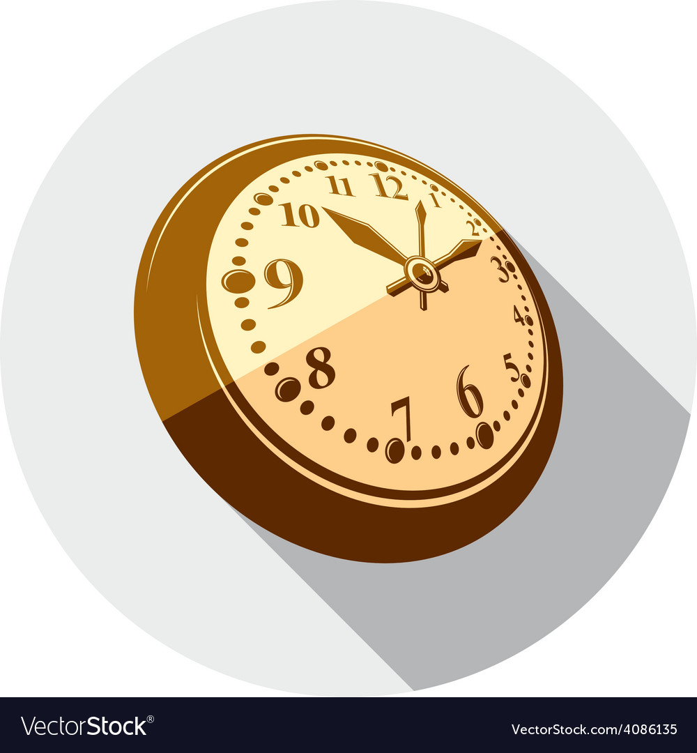3d pocket watch graphic three-dimensional timer vector | Price: 1 Credit (USD $1)