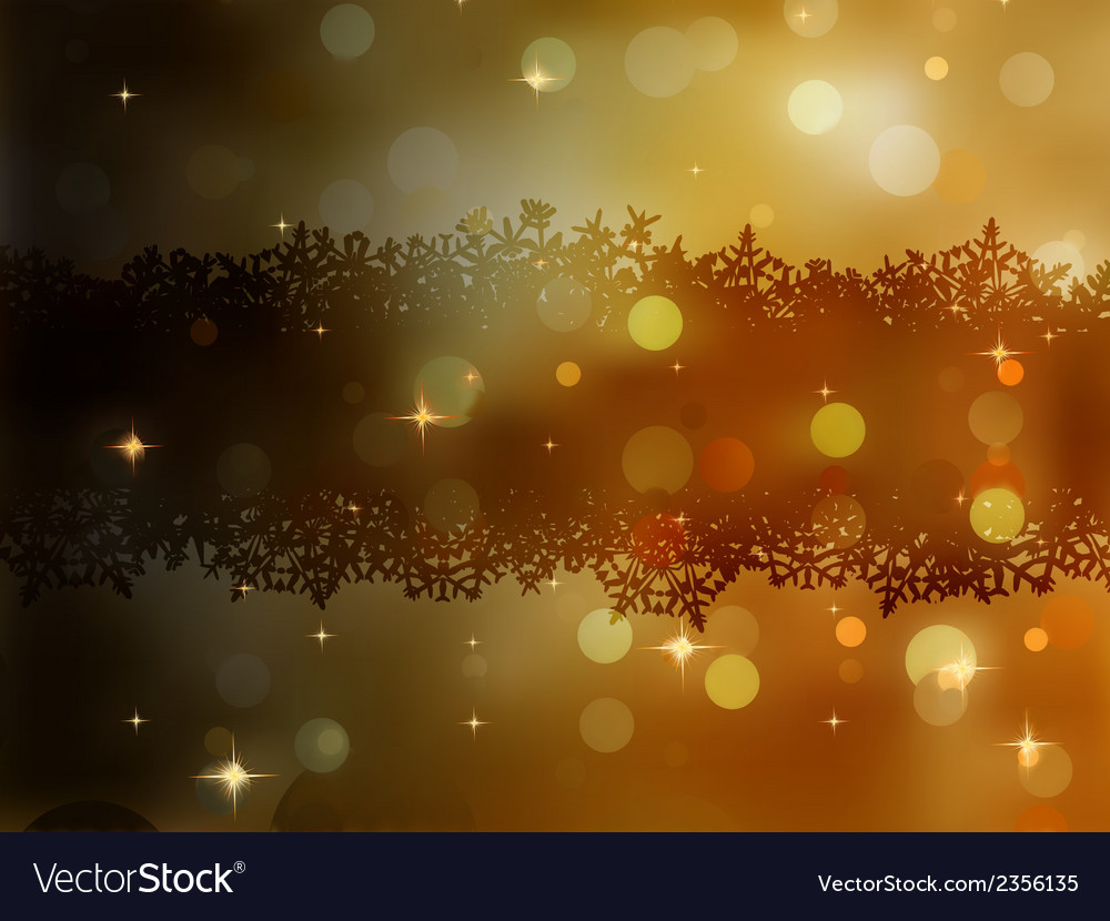 Christmas gold background eps 8 vector | Price: 1 Credit (USD $1)