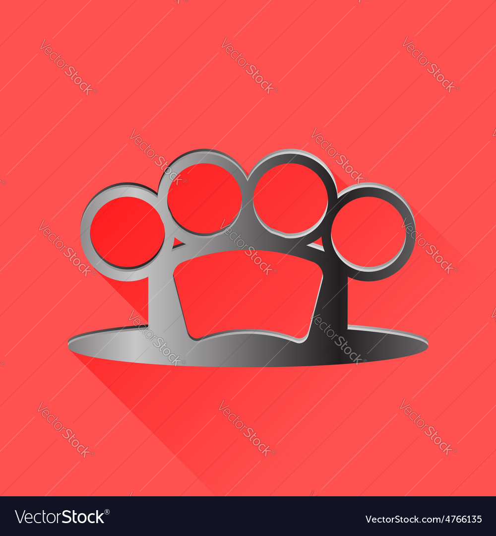 Metal knuckle vector | Price: 1 Credit (USD $1)