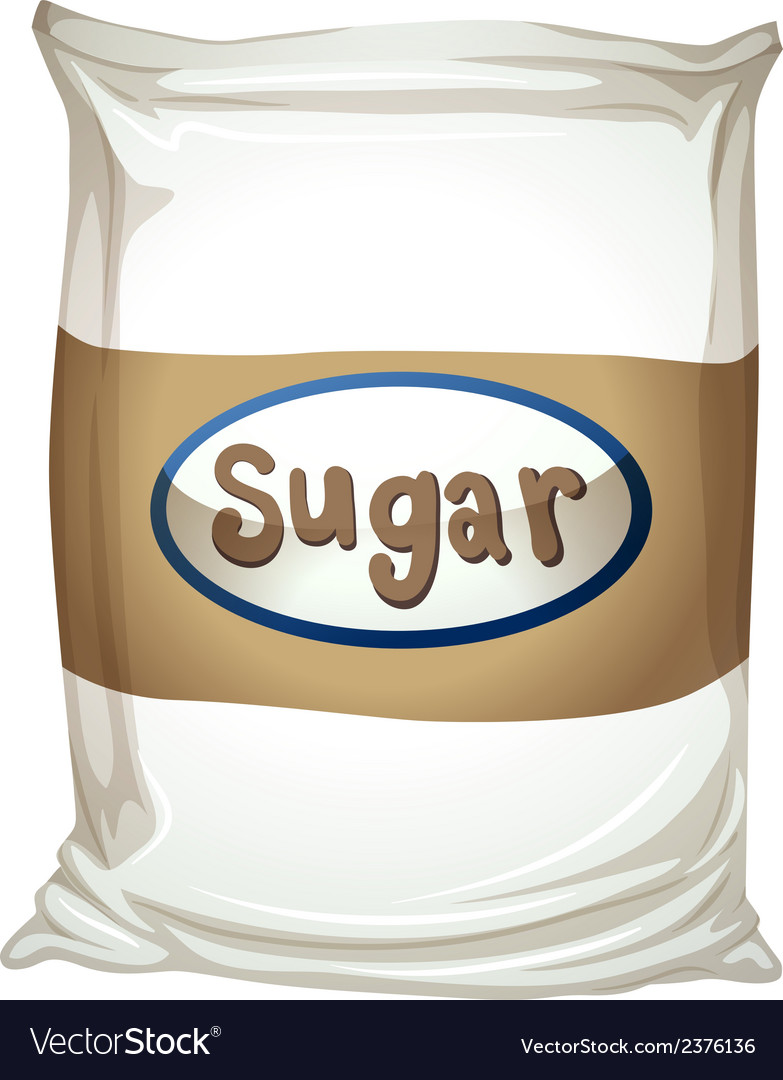 A packet of sugar vector | Price: 1 Credit (USD $1)