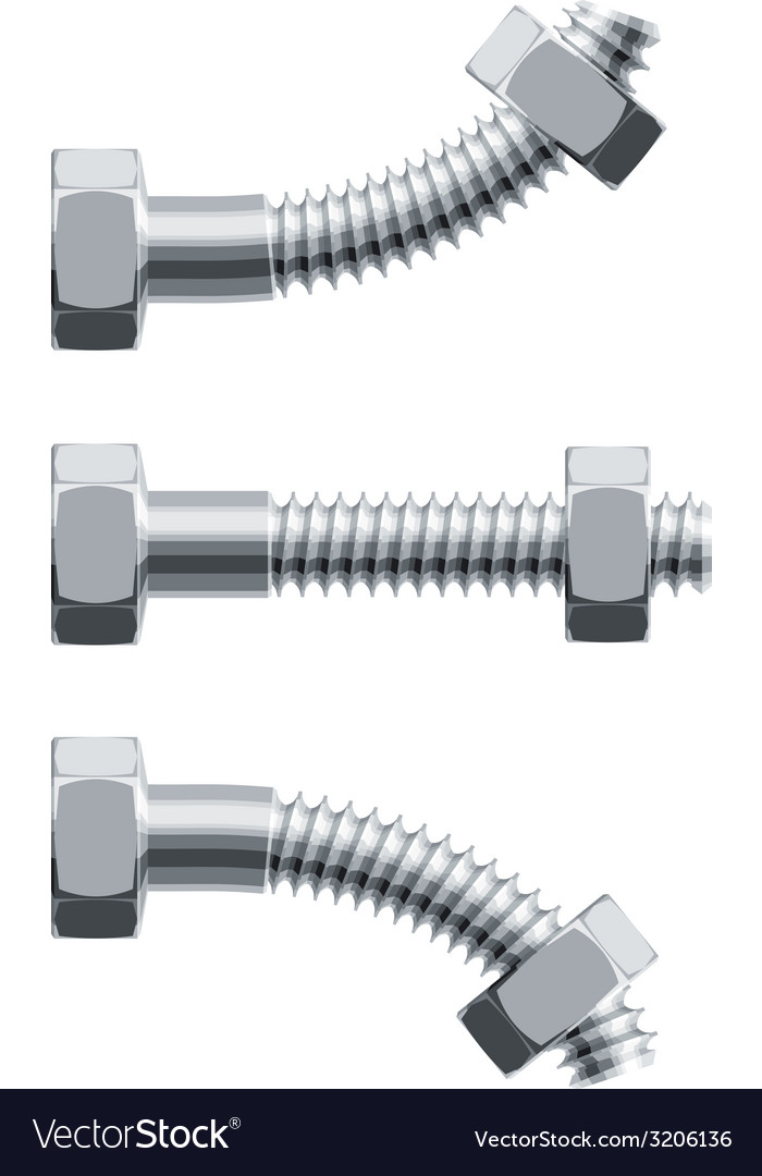 Erection bolt vector | Price: 1 Credit (USD $1)